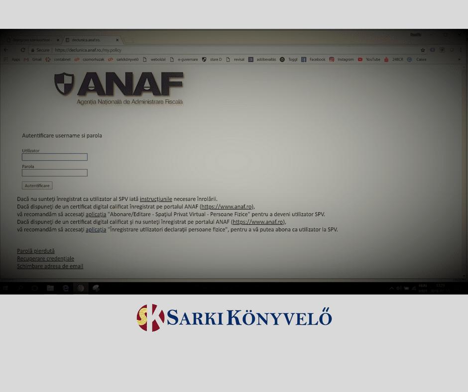 Alternatív oldal - SARKI könyvelő